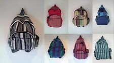 Hippie Gypsy RuckSack Cotton Tribe UNISEX Backpack Bag Handmade Nepal FAIRTRADE