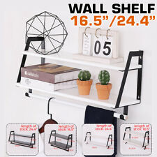 Wall Shelves Shelf DIY Floating Display Decor Home Stainless Steel Wall Mounted