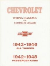 repair manuals \u0026 literature for 1942 chevrolet truck for sale ebay 75 Chevy Alternator Wiring Diagram