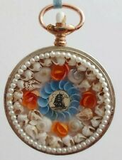 Sailor's Valentine Vintage Pocket Victorian-Inspired Sea Shells Handmade Art #1