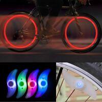 2er Set LED Fahrrad Speichenlicht Beleuchtung Rad Speichen Licht Reflektor Lampe