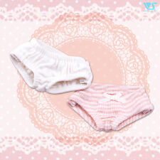 Volks HTDP Kyoto 11 Super Dollfie Mini Soft Cotton Panties Set White Pink MSD