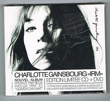 CHARLOTTE GAINSBOURG - IRM - ÉDITION LIMITÉE CD + DVD - NEUF NEW NEU