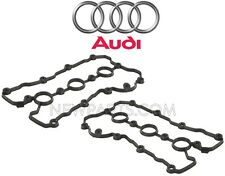 Audi A4 A4 Quattro 3.2L V6 Pair Set of Left and Right Valve Cover Gasket Genuine