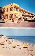 Hollywood Beach Florida The Nautilus Multiview Vintage Postcard K27905
