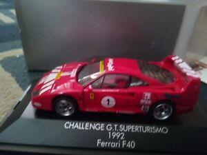 Herpa Ferrari F40 N.1 Challenge G.T. Superturismo 1992 Die Cast 1/43 Vintange