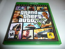 Grand Theft Auto V Premium Edition (Xbox One) w/unused online