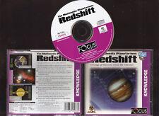 REDSHIFT. THE MULTIMEDIA PLANETARIUM SOFTWARE FOR THE PC. RARE ORIGINAL VERSION!