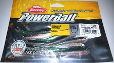 "Berkley Powerbait Dropshot / Power Bass Minnow 3"" - 8cm - 10 Per Pack"
