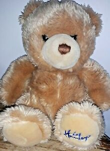 HAMLEYS BROWN BEAR SOFT TOY 9 INCHES - FURRY BEAR FOR AGE 1 YEAR+ VGC
