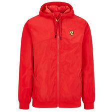 New! Scuderia Ferrari F1 Fanwear Mens Windbreaker Jacket Official Sizes S-XXL