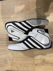 Adidas Daytona FIA Race Boots White/Black