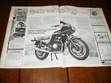 1982 HONDA CB900F  ***ORIGINAL ARTICLE***