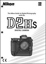 Nikon D2HS User Manual Guide Instruction Operator Manual