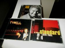 3 New Sealed Steve Tyrell Cd's.. A New Standard/This Guys In Love/Standard Time.