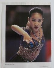 Michelle Kwan Olympic Skating Signed Autographed 8x11 Mag Photo PSA Guaranteed 1