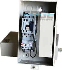 WEG MAGNETIC STARTER FOR ELECTRIC MOTOR AIR COMRPESSOR 5 HP 3 PHASE 230V  18 AMP