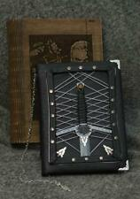 "Handmade leather craft paper notebook ""Witcher's Stories - Sword"" in box"