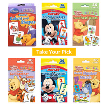 Flash Cards For Toddlers Kids Disney Numbers Counting Colors Shapes First Words