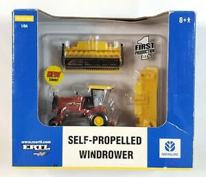 New Holland HW345 Self-Propelled Windrower By Ertl 1st Production 1/64 Scale