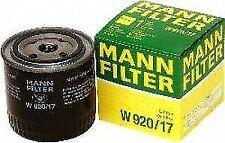 MANN-FILTER W920/17 Oil Filter