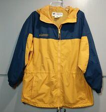 Columbia Sportswear Women's Lightweight Jacket Size M Gold and Navy