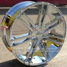 "24"" INCH B20 CHR RIMS AND TIRES 5X127 IMPALA SS CAPRICE GRAND CHEROKEE C10 RAM"