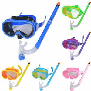 Tauchbrille Schwimmen Schnorchelbrille Kinder Set Kinderausrüstung