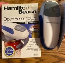Hamilton Beach Open Ease Effortless Push Button Automatic Jar Opener Model 76800