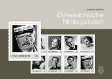 Oostenrijk 2019 Oostenrijkse Filmlegenden     velletje     postfris (MNH)