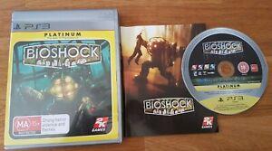 Bioshock Playstation 3 Sony PS3 Free Postage