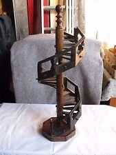Schöne alte Modell-Wendeltreppe Meister,- oder Gesellenstück um oder vor 1900