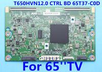 Original T-Con Board  65T37-C0D T650HVN12.0 CTRL BD For Samsung UN65J6200AFXZA