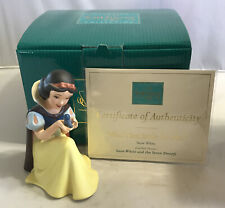 WDCC - Disney's Snow White Figure Won't You Smile At Me? w/ COA 1217924 - In box