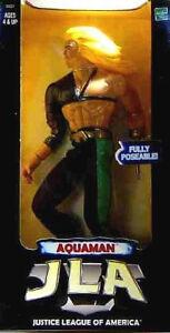 Aquaman 10 Inch Action Figure 1998 New DC Comics JLA Hasbro Toys