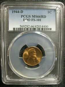 1944p MS-66 Bright Red Lincoln Cent---NGC Certified...Really nice specimen..Great Price...See what others on Ebay is asking below