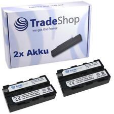 Batería 2x para Sony dcr-vx2000 dcr-vx2000e dcr-vx-2000/e
