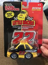 Racing Champions Little Racers Ward Burton #22 Cat 2002 Edition (MB)