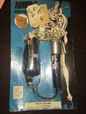 Vintage Mura DX-132b 500 Ohms Dynamic Microphone In Original Package Sealed