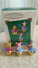 Hallmark 2003 Ring-a-Ling Pals Winnie the Pooh Tigger Bell Christmas Ornament