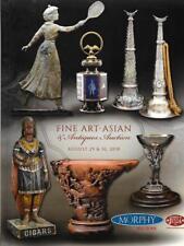 Morphy Fine Art Asian & Antiques Auction Catalog HC August 2018