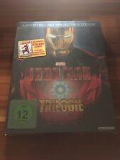 Iron Man Trilogie - Collector's Edition (2014)BluRay Steelbook NEU/OVP.