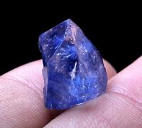 Rare!! NATURAL Clear Beautiful Blue Dumortierite Crystal Mineral Specimen Y00824