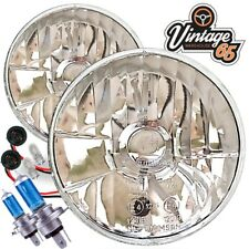 "Triumph Crystal Xenon RDX 7"" Halogen Conversion Headlight Head Lamp Kit"