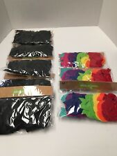 Adhesive Black Letters (5 Pks Of 32) & Colored Numbers (3 Pks Of 32)