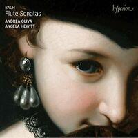 Andrea Oliva - Bach Flute Sonatas [CD]