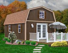 Best Barns 16' x 20' Richmond Wood Shed Kit