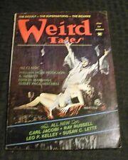 1974 Summer WEIRD TALES Pulp Magazine v.47 #4 VG+ 4.5 Bizarre Supernatural