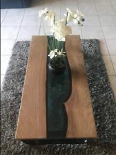 Table basse de bois pour salon