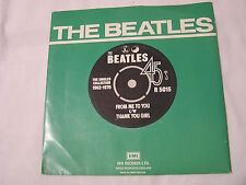 The Beatles 45 & Picture Sleeve from single collection-FROM ME TO YOU/THANK YOU